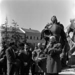 Gyülekező Mátyás király szobornál