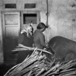 Carpet and basket manufactory , Gherla