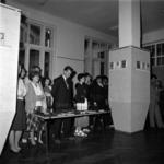 könyvtári kiállítás, a politikia könyv