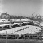 monostori híd, télen