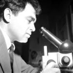 a mikroszkópnál, Roşca, Toma
