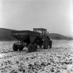trágya szállítás télen