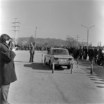 ACR autóverseny III - Könyvtár, nő virággal