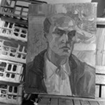 Andrásy Zoltán, self portrait