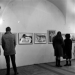 pupils' exhibition from the fine-arts school