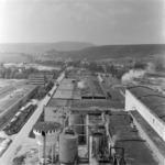 CCH Dej, paper factory, exterior and interior