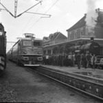 first electric locomotive