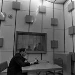 Cluj Radio Station, studio, interior
